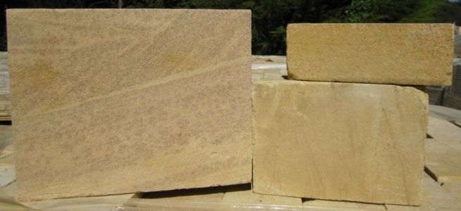 Honed Sandstone Block