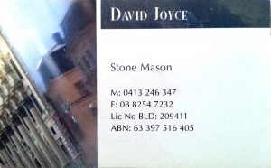 David Joyce Card